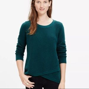 EUC Madewell Feature sweater in Hunter green Small